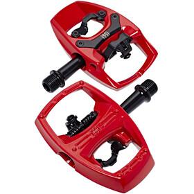 iSSi Flip II Pedali rosso/nero